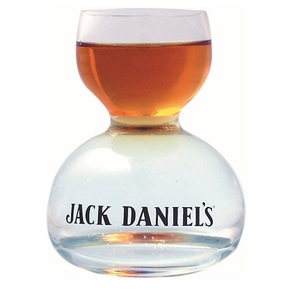Verre à Shot Whisky allongé Jack Daniel's