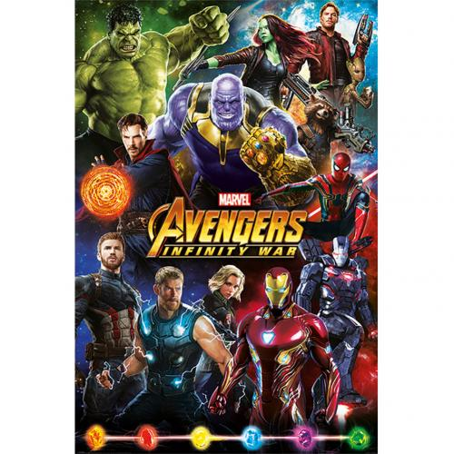 Poster The Avengers: Infinity War