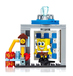 Bob l´éponge jeu de construction Mega Bloks Photo Booth Time Machine