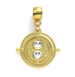 Harry Potter breloque Time Turner (plaqué or)