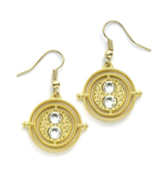 Harry Potter boucles d'oreille Time Turner (plaqué or)