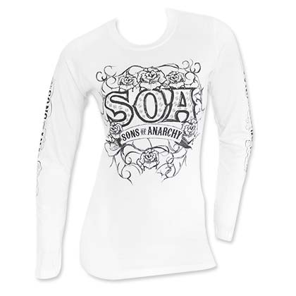 T-shirt Sons of Anarchy pour femme