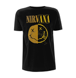 T-shirt Nirvana - Spliced Smiley