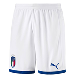 Short Italie Football 2018-2019 Home (Blanc)
