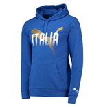 Sweat-shirt Italie Football 2018-2019 (bleue)