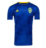 Maillot de Football Suède Adidas Away 2018-2019 (Enfants)