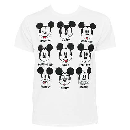 t shirts mickey mouse produits officiels 2017 18 en promo. Black Bedroom Furniture Sets. Home Design Ideas