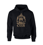 Sweat-shirt Johnny Cash RING OF FIRE