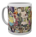 Tasse Rick and Morty 293801