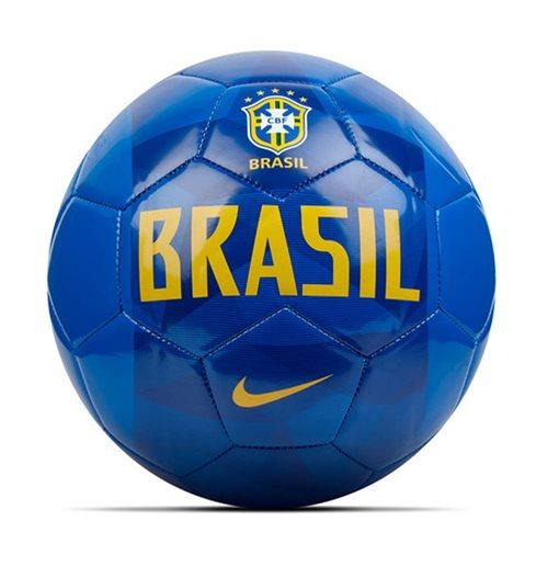 Ballon De Football Brésil Nike Supporters 2018 2019 Bleu