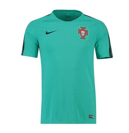 t shirt du portugal en vert nike