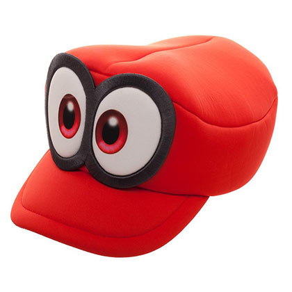 Casquette Cosplay Mario Odyssey