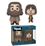 Harry Potter pack 2 VYNL Vinyl figurines Hagrid & Harry 10 cm