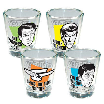 Verre Star Trek