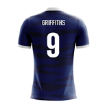 Maillot de Football Écosse Airo Concept Home 2018-2019 (Griffiths 9) - Enfants