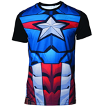 T-shirt Captain América  294942
