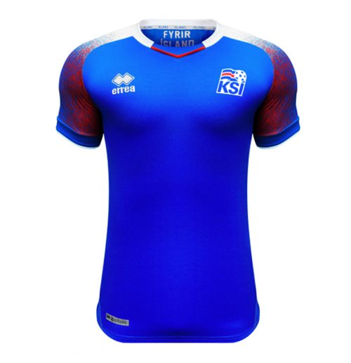 Maillot de Football Islande Errea Home 2018-2019