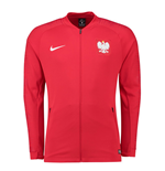 Sweat-shirt Pologne Football 2018-2019 (Rouge)