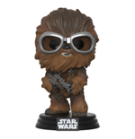 Star Wars Solo POP! Vinyl Bobble Head Chewbacca with Goggles 9 cm