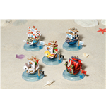 One Piece Yura série mini-figurines Wobbling Pirate Ship Collection 6 cm (6)