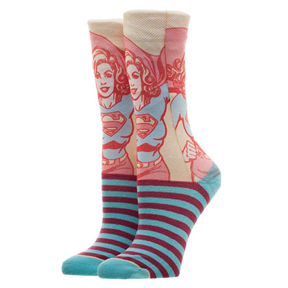 Chaussettes Supergirl
