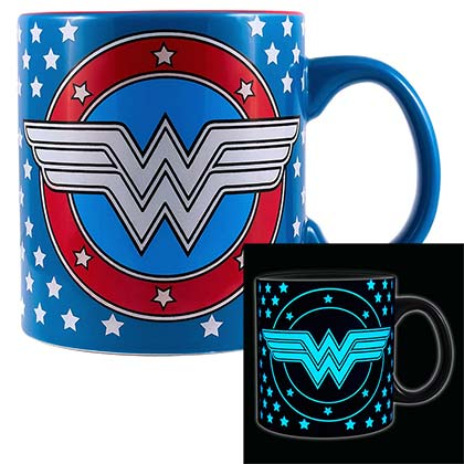 Tasse Fluorescent Wonder Woman