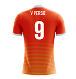 Maillot de Football Hollande Airo Concept Home 2018-2019 (V. Persie 9) - Enfants