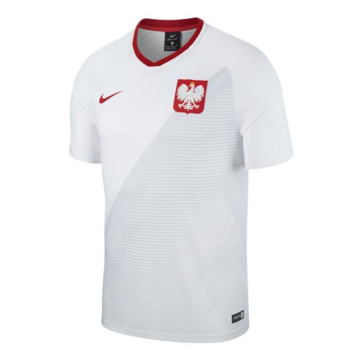 T-shirt Pologne Football 2018-2019 Home