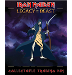 Iron Maiden Legacy of the Beast badge Reaper Eddie