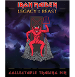 Iron Maiden Legacy of the Beast badge The Beast