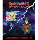Iron Maiden Legacy of the Beast pack 2 badges Trooper Eddie & General