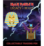 Iron Maiden Legacy of the Beast pack 2 badges Trooper Pharaoh & Aset