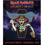 Iron Maiden Legacy of the Beast badge Vampire Hunter Eddie