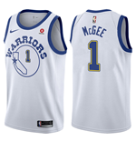 Maillot de Basket-ball Replica Golden State Warriors Javale McGee Nike Hardwood Classic
