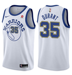 Maillot de Basket-ball Replica Golden State Warriors Kevin Durant Nike Hardwood Classic