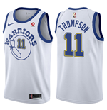 Maillot de Basket-ball Replica Golden State Warriors Klay Thompson Nike Hardwood Classic