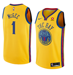 Maillot de Basket-ball Replica Golden State Warriors Javale McGee Nike City Edition
