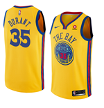 Maillot de Basket-ball Replica Golden State Warriors Kevin Durant Nike City Edition