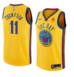 Maillot de Basket-ball Replica Golden State Warriors Klay Thompson Nike City Edition