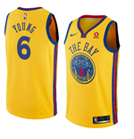 Maillot de Basket-ball Replica Golden State Warriors Nick Young Nike City Edition