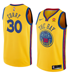 Maillot de Basket-ball Replica Golden State Warriors Stephen Curry Nike City Edition