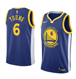 Maillot de Basket-ball Replica Golden State Warriors Nick Young Nike Icon Edition