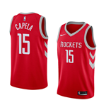 Maillot de Basket-ball Replica Houston Rockets Clint Capela Nike Icon Edition