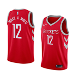 Maillot de Basket-ball Replica Houston Rockets Luc Mbah A Moute Nike Icon Edition