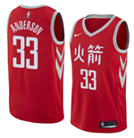 Maillot de Basket-ball Replica Houston Rockets Ryan Anderson Nike City Edition