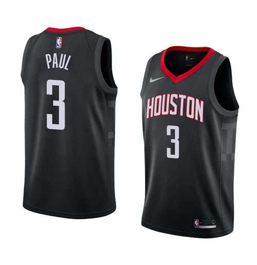 Maillot de Basket-ball Replica Houston Rockets Chris Paul Nike Statement Edition