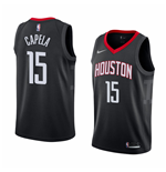 Maillot de Basket-ball Replica Houston Rockets Clint Capela Nike Statement Edition