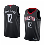 Maillot de Basket-ball Replica Houston Rockets Luc Mbah A Moute Nike Statement Edition