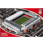 Poster Liverpool FC - Anfield