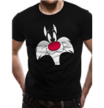 T-shirt Looney Tunes - Sylvester Face